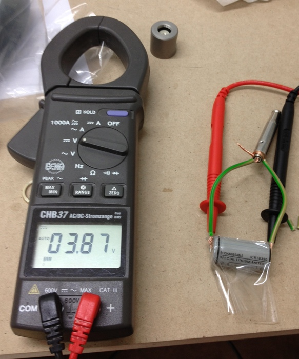 Testing battary resistance with multimeter and atomizer